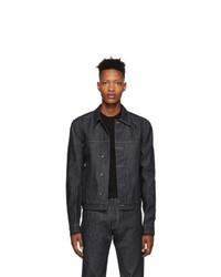 Rick Owens DRKSHDW Indigo Denim Worker Jacket