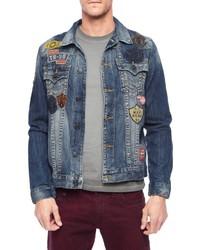 True Religion Jimmy Well Traveled Denim Jacket