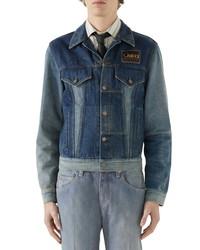 Gucci La Saison Patchwork Denim Jacket