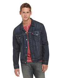Dark Blue Jean Jacket Men - My Jacket