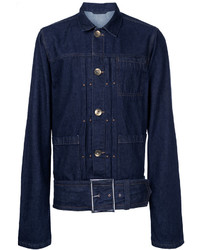 Maison mihara yasuhiro belted denim jacket medium 5053962