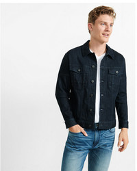 Express Moto Flex Stretch Denim Jacket