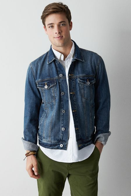American Eagle Outfitters Denim Jacket | Where to buy & how to wear