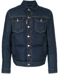Padded denim jacket medium 4345169