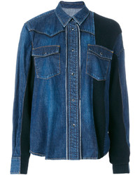 Panelled denim shirt medium 4471208