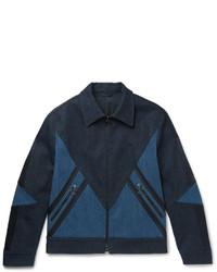 Neil Barrett Panelled Stretch Denim Jacket