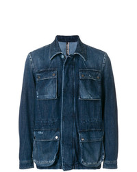 Jacob Cohen Patch Pocket Denim Jacket