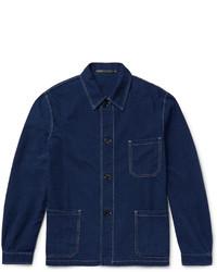 Paul Smith Textured Denim Jacket