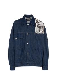 Raf Simons Punkette Oversized Denim Jacket