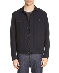 John Varvatos Regular Fit Trucker Jacket