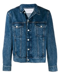 Calvin Klein Jeans Rock Print Denim Jacket