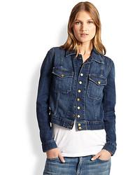 Current/Elliott Snap Denim Jacket
