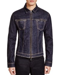 John Varvatos Star Usa Zip Denim Jacket