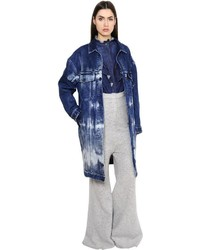 Stella McCartney Tie Dye Cotton Stretch Denim Jacket