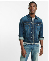 Express Stretch Denim Trucker Jacket