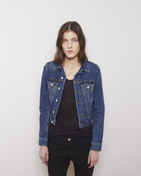 Acne Studios Tag Vintage Denim Jacket