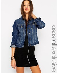 Asos Tall Shrunken Denim Jacket