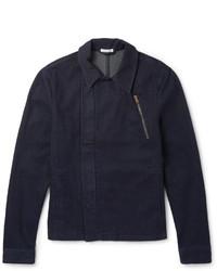 Tomas Maier Stretch Denim Zip Up Jacket