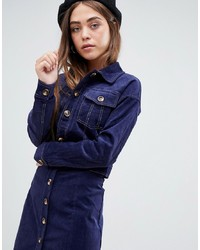Glamorous Trucker Jacket In Cord Co Ord Cord