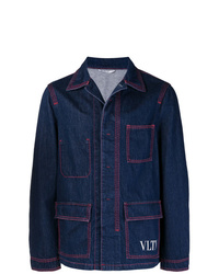 Valentino Vltn Denim Jacket