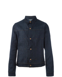 Natural Selection Wells Denim Jacket Blue
