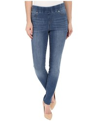 Liverpool Sienna Pull On Contour 4 Way Stretch Super Skinny Legging Jeans In Hydra Stone Blue Jeans