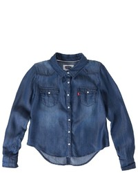 Levi's Toddler Button Front Denim Shirt