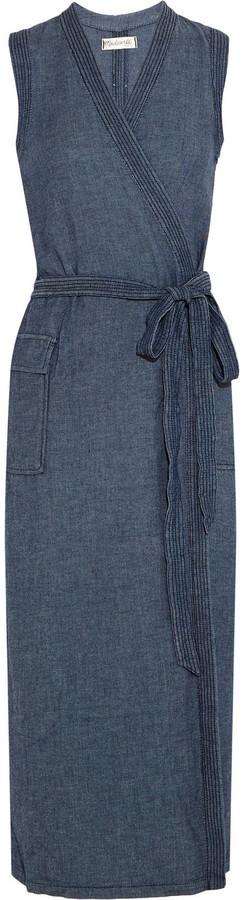 57ddcc3d47 Madewell Denim Wrap Dress
