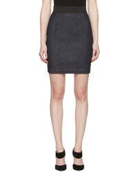 Dolce and gabbana navy denim miniskirt medium 1196111