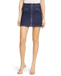 TIGER MIST Mackenzie Denim Miniskirt