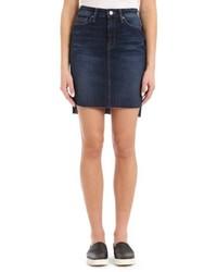 Mavi Jeans Mila Frayed Denim Skirt