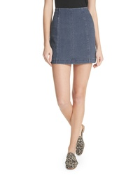 Free People We The Free By Modern Denim Miniskirt