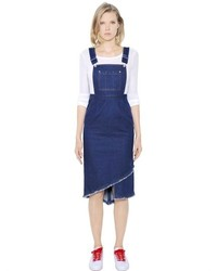 SteveJ & YoniP Cotton Denim Overall Dress