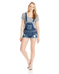 Almost Famous Juniors Cuffed Shortall