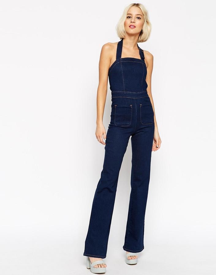 процессе фото джинсовый комбинезон брюки клеш этого добиваются талантливые