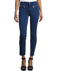 MICHAEL Michael Kors Michl Michl Kors Zip Pocket Denim Pants Prussian Blue
