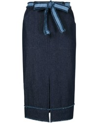 Timo Weiland Denim Pencil Skirt