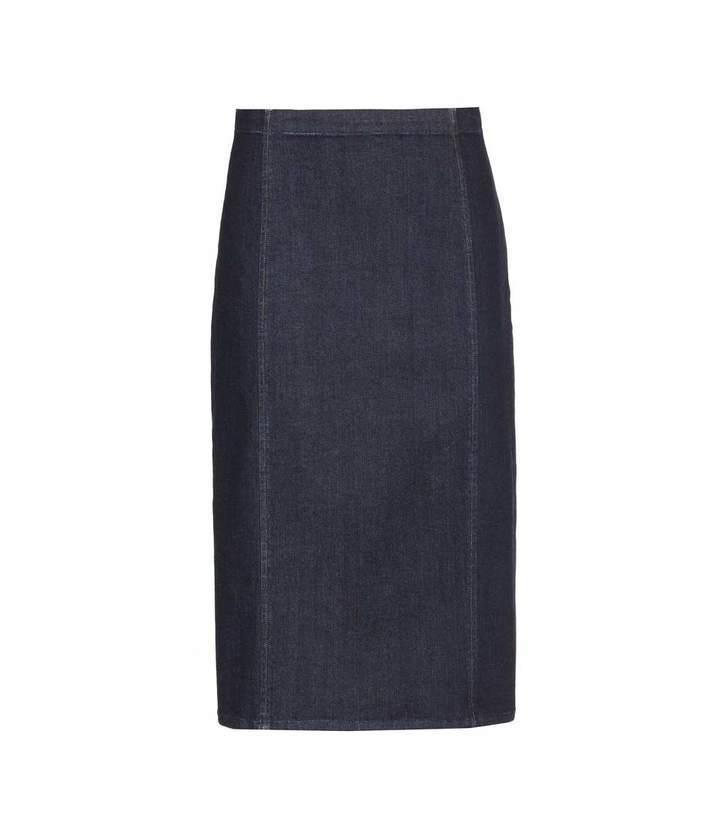 e0f27f6d55 ... Polo Ralph Lauren Denim Pencil Skirt ...