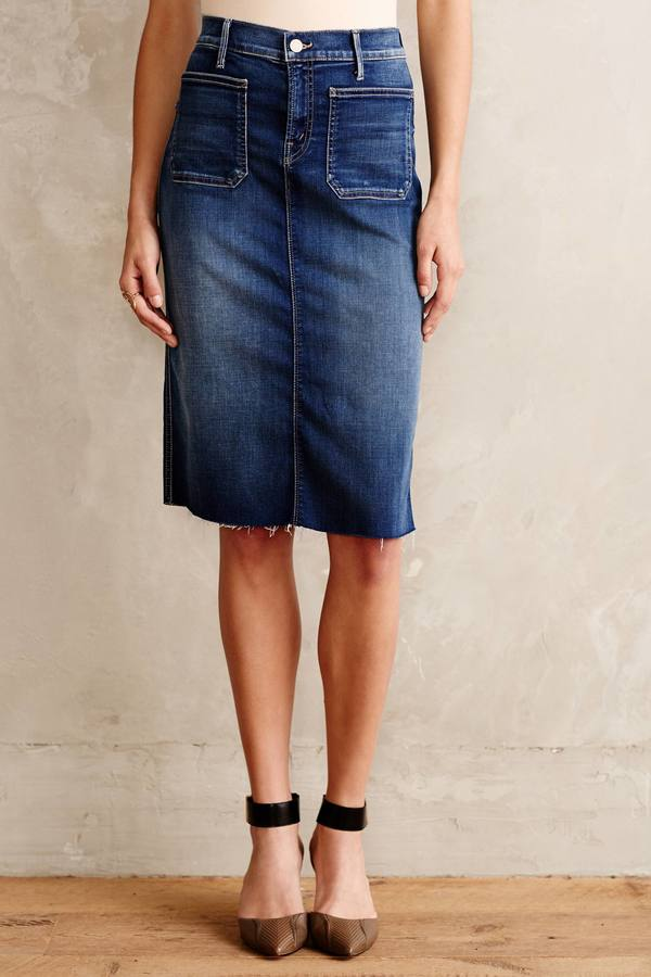 denim pencil skirt denim light 27 skirts where to