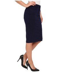 Blank NYC Navy Blue Pencil Skirt | Where to buy & how to wear
