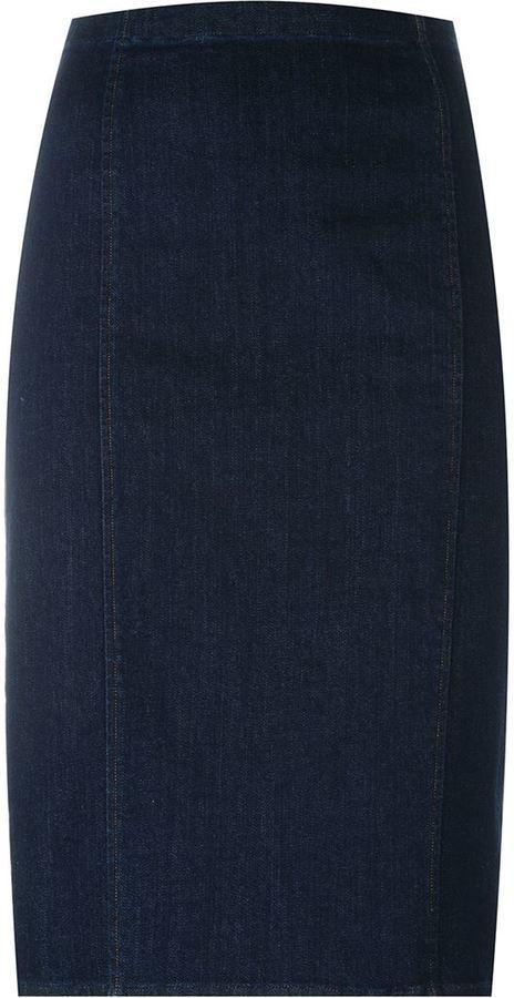 1af48ff366 ... Polo Ralph Lauren Denim Pencil Skirt