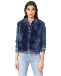 Carolina shearling jacket medium 5312006