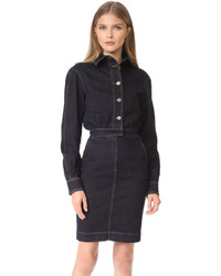 Stella McCartney Annamarie Stretch Denim Dress