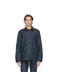 Nudie Jeans Blue Denim Barney Jacket