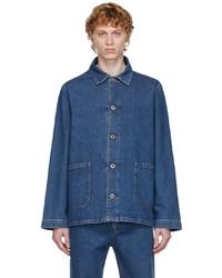 A.P.C. Blue Denim Kerlouan Jacket