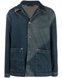 Diesel Faded Shirt Denim Jacket