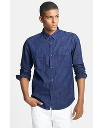 A.P.C. Cotton Denim Shirt