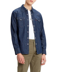 Levi's Barstow Standard Fit Denim Western Shirt