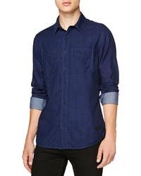 Burberry Brit Double Face Denim Pocket Shirt