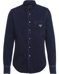 Prada Button Up Denim Shirt